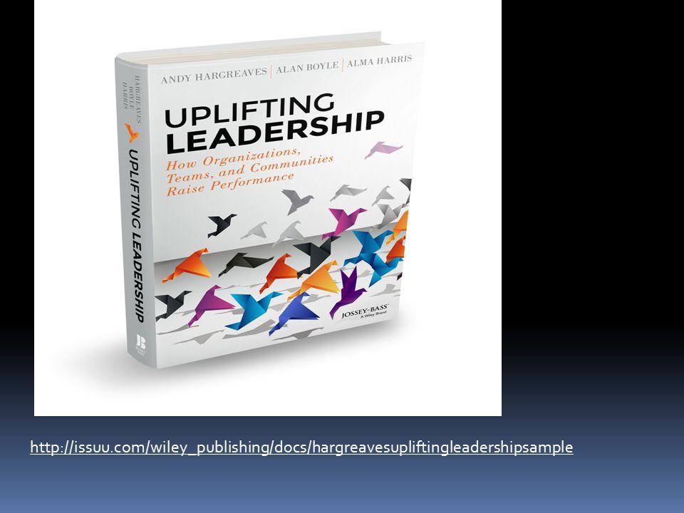 PBE Criteria http://issuu.com/wiley_publishing/docs/hargreavesupliftingleadershipsample