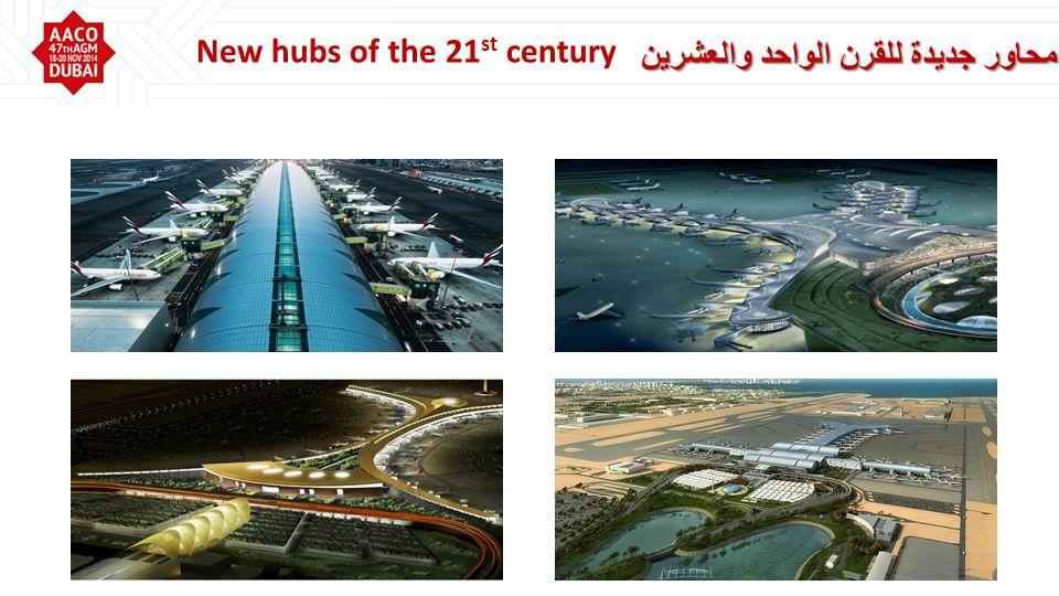 محاور جديدة للقرن الواحد والعشرين New hubs of the 21 st century