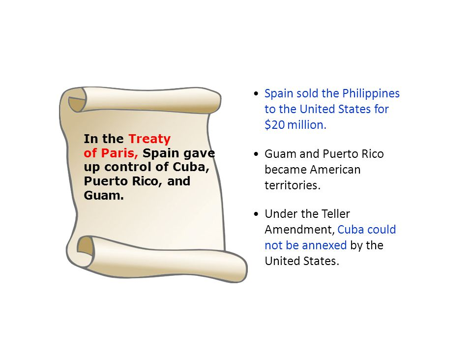 Spain sold the Philippines to the United States for $20 million.