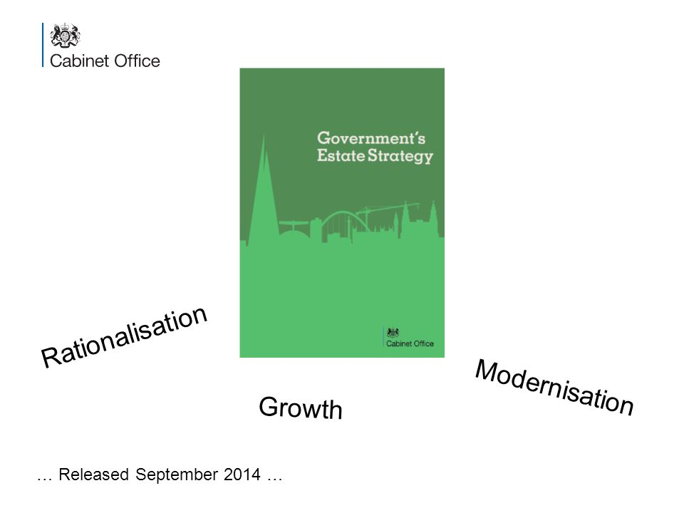 Modernisation Rationalisation Growth … Released September 2014 …