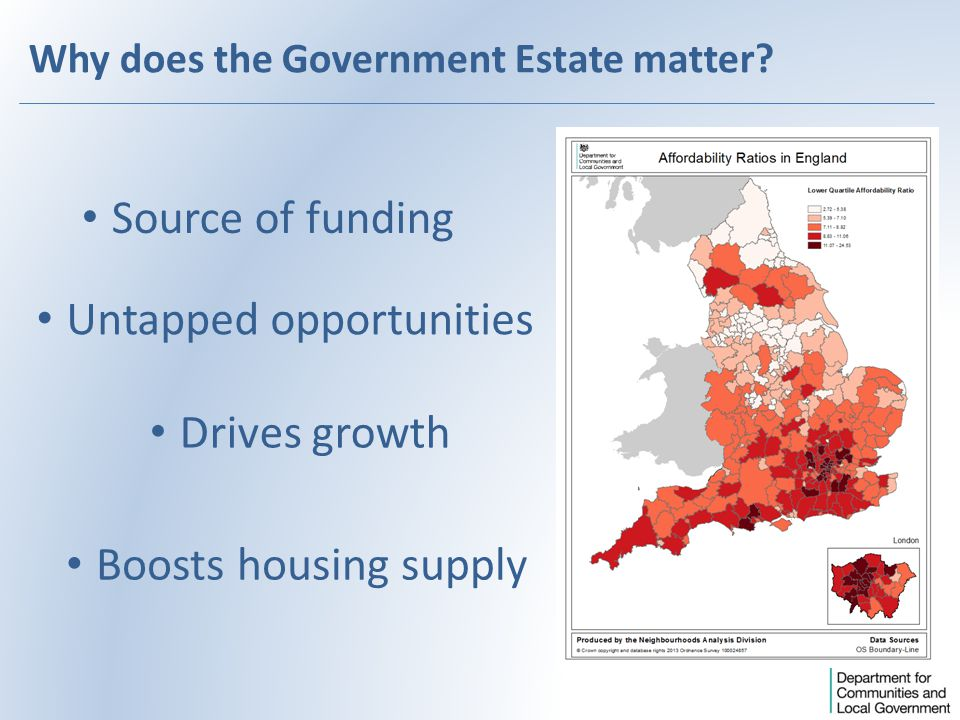 Why does the Government Estate matter.