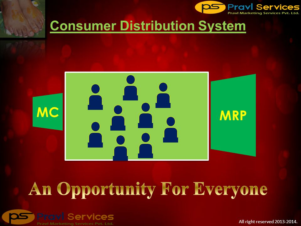 MC ADV IMC MRP + + = Traditional Distribution System Up to 30-60% All right reserved 2013-2014.