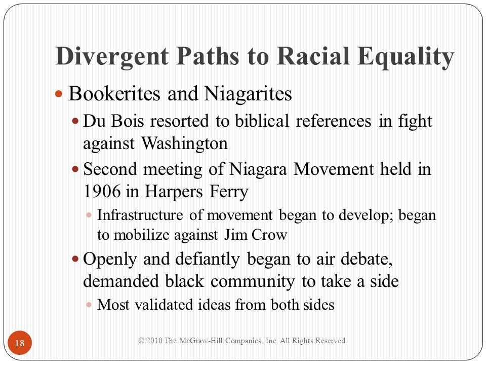 Divergent Paths to Racial Equality Two Classes of Negroes Address by AME minister Rev.