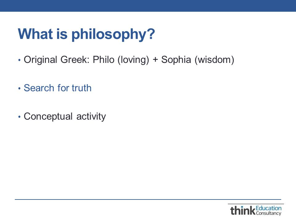 Philosophy for children P4C is a multi-dimensional thinking skills programme which aims to develop: Reasoning skills Creativity Personal and interpersonal skills Ethical understanding