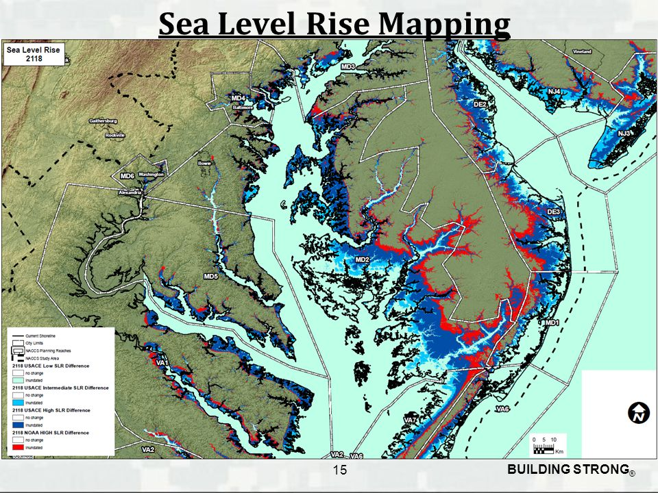 BUILDING STRONG ® Sea Level Rise Mapping 15