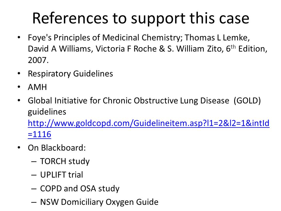 Information Gathering Prior to Tutorial 1 WHAT DID THE UPLIFT AND TORCH TRIALS CONCLUDE ABOUT THE MANAGEMENT OF COPD Before your tutorial you should review the two trial papers on WebCT and summarise your main learning.