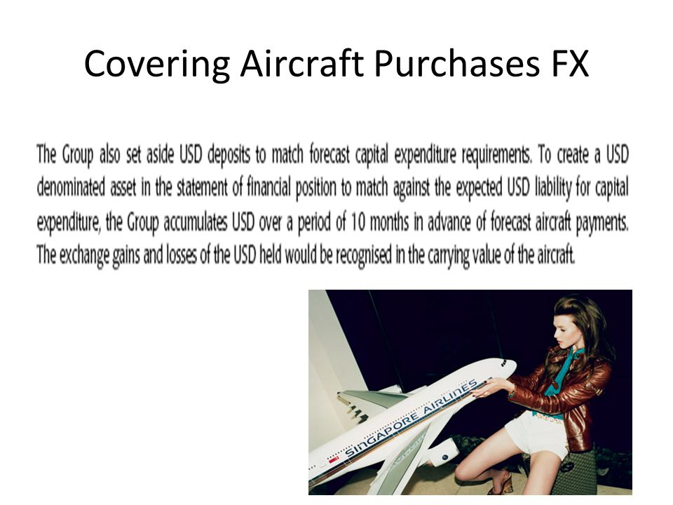 Covering Aircraft Purchases FX