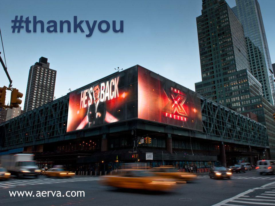 Aerva, Inc. Company Confidential 24 #thankyou www.aerva.com