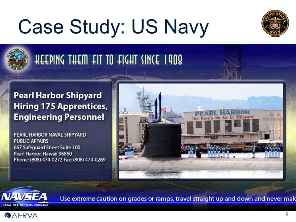 6 Case Study: US Navy