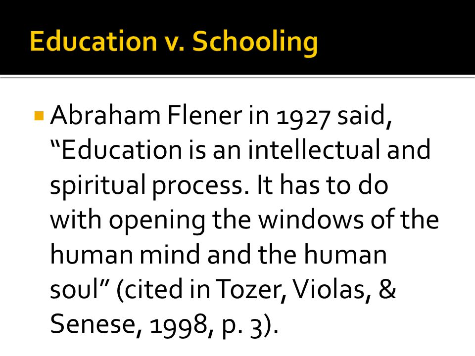  The totality of experiences that occur within the institution called school, not all of which are educational (Tozer, 1998, p.