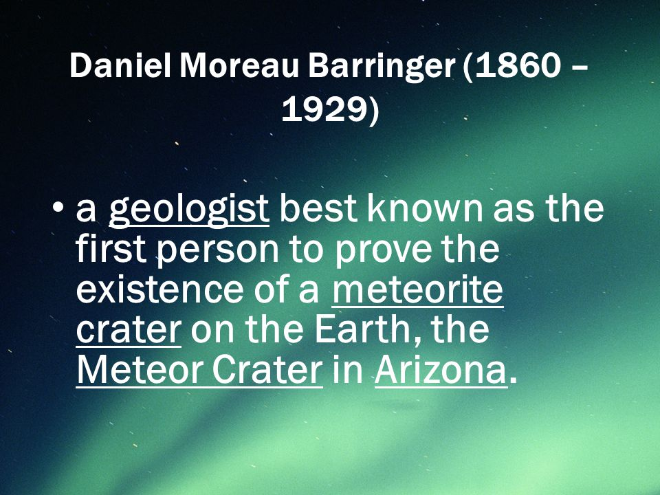 The site was formerly known as the Canyon Diablo Crater, and the meteorite that created the crater is officially called the Canyon Diablo Meteorite, the name that is on all officially labeled fragments of the meteorite.