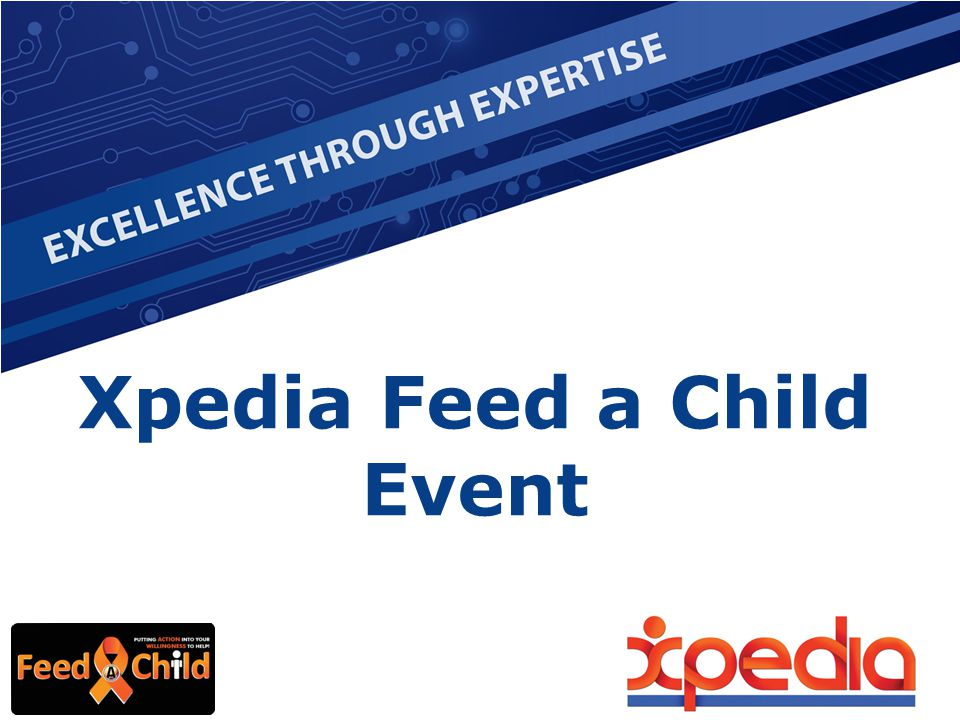 Xpedia Feed a Child Event