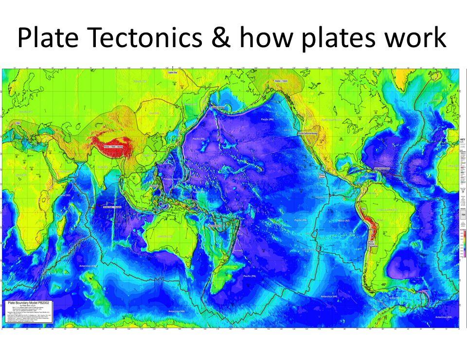 Plate Tectonics & how plates work