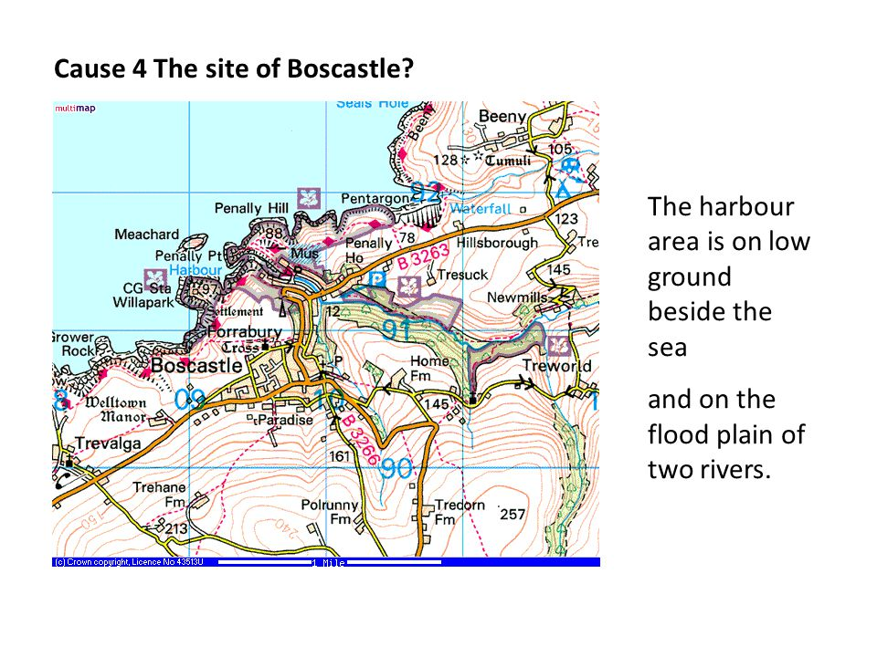 Cause 4 The site of Boscastle.