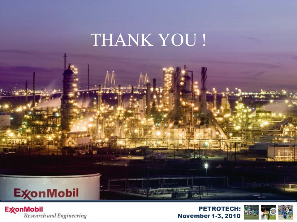 PETROTECH: November 1-3, 2010 THANK YOU !