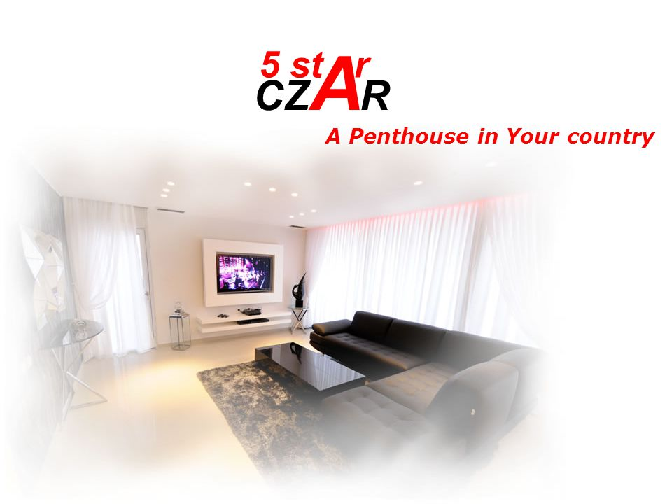 5 st CZ A R r A Penthouse in Your country