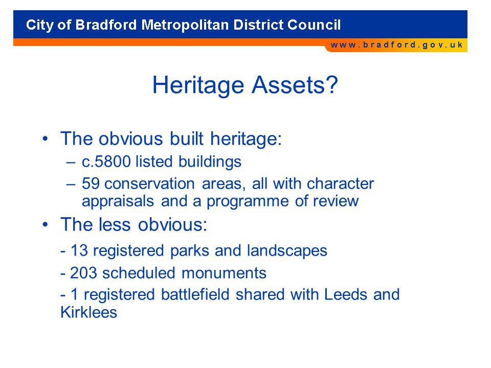 Heritage Assets.