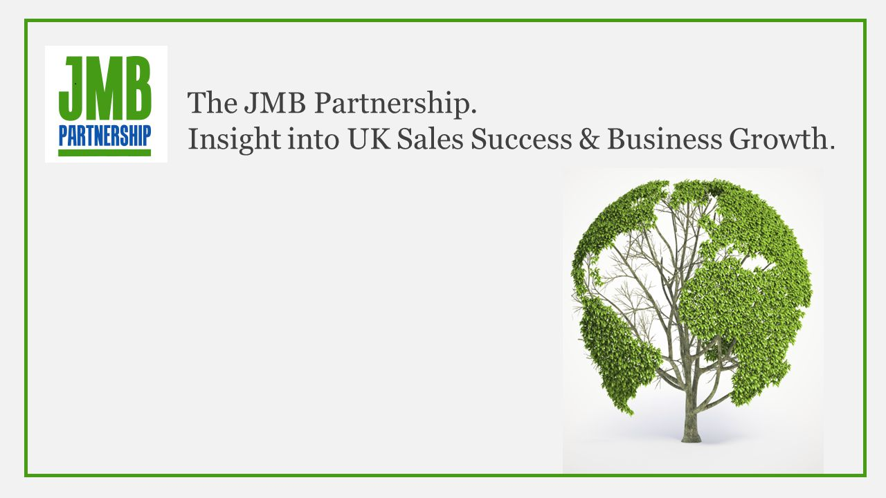 The JMB Partnership. Insight into UK Sales Success & Business Growth.