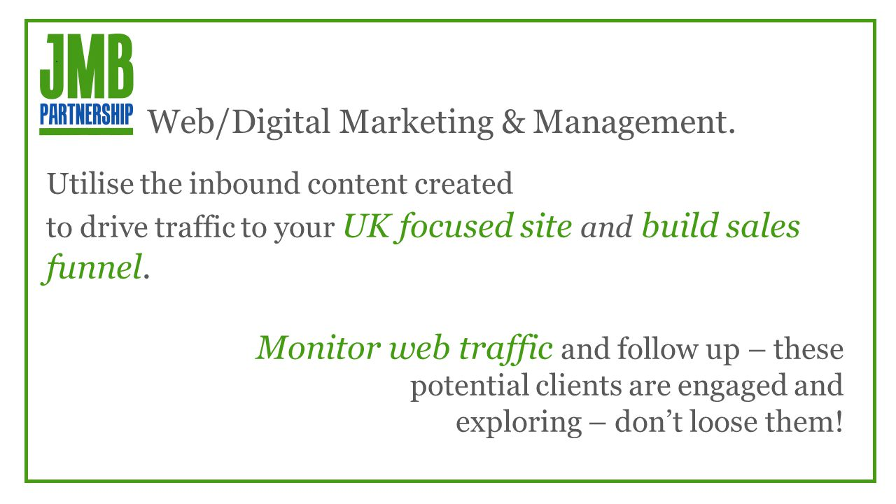 Web/Digital Marketing & Management.