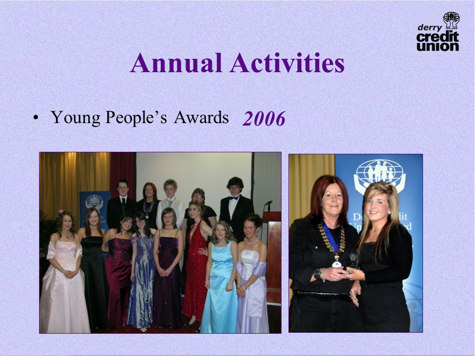 Annual Activities Young People's Awards 2006