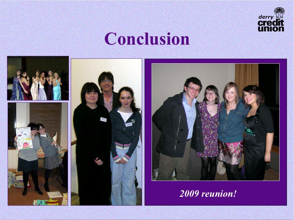 Conclusion 2009 reunion!
