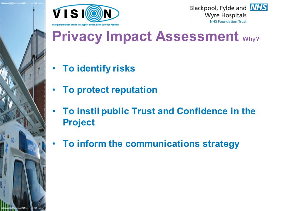 Privacy Impact Assessment Work.