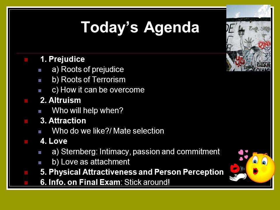 Today's Agenda 1.