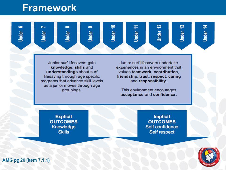 AMG pg 20 (Item 7.1.1) Framework
