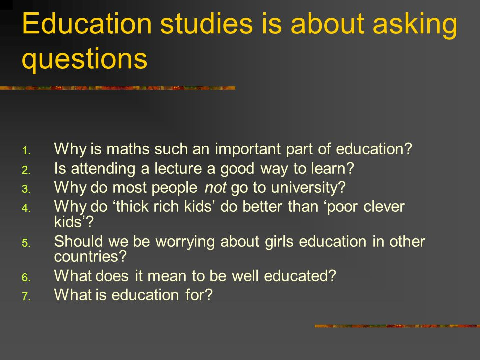 Are you 'well- educated'.How many 'A' level 'points' do you have.