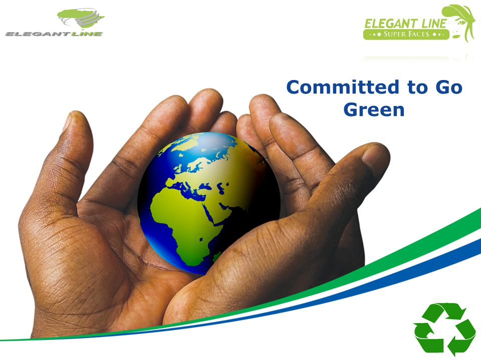 Committed to Go Green