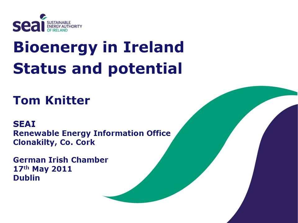The BGIS can assist with: –Identifying opportunities –Feasibility studies –Supply chain optimisation http://maps.seai.ie/bioenergy http://www.seai.ie/Renewables/Bioenergy/