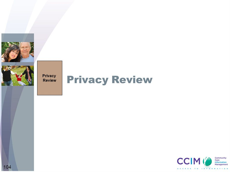 104 Privacy Review