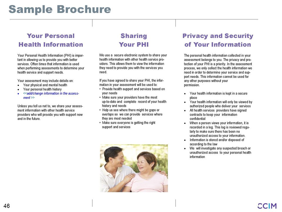 46 Sample Brochure