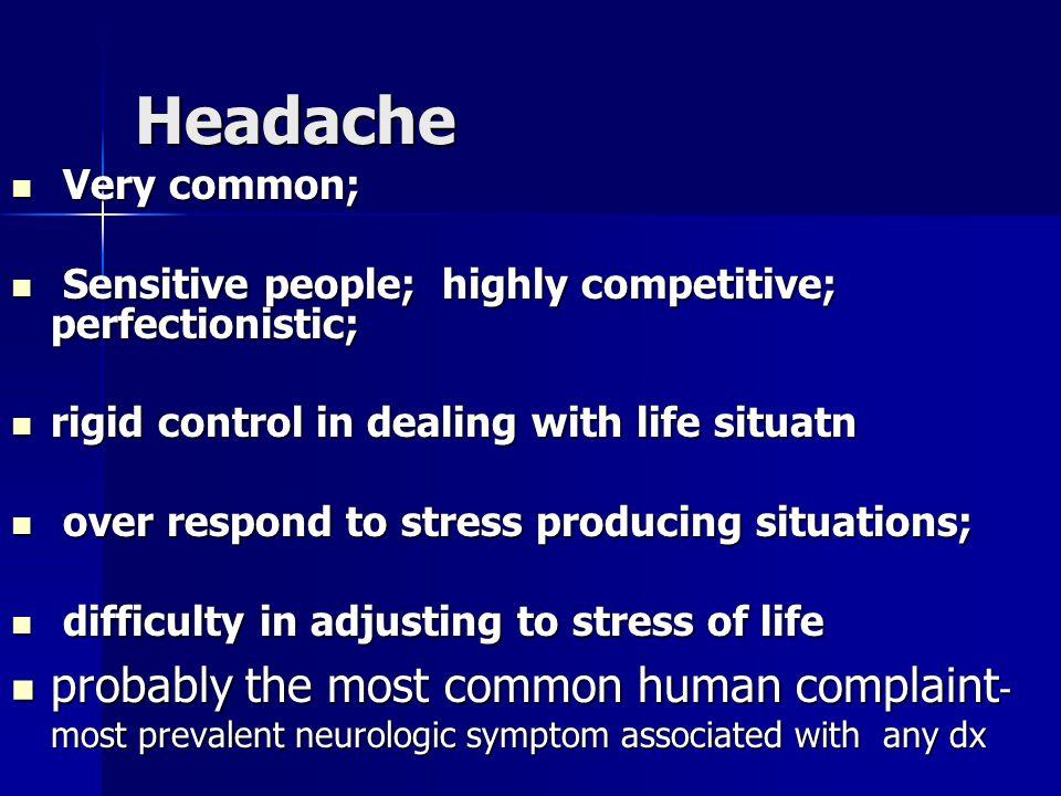 Headache Headache DEFINITION DEFINITION CLASSIFICATION AND CAUSES CLASSIFICATION AND CAUSES PATHO PHYSIOLOGY PATHO PHYSIOLOGY INVESTIGATIONS INVESTIGATIONS MANAGEMENT MANAGEMENT