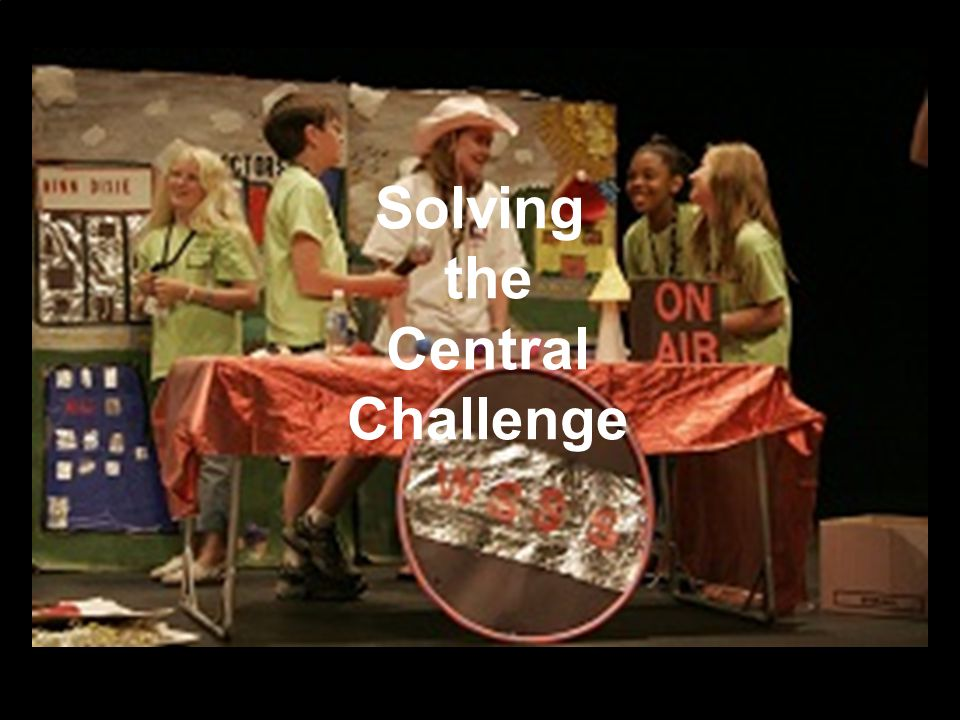 Solving the Central Challenge
