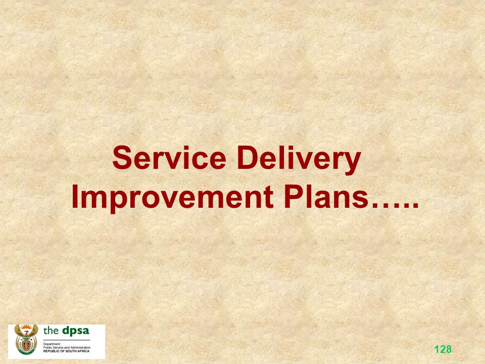 127 Group Work Group lists ±2 challenges/problems that are being experienced at your department that pertains to poor service delivery.