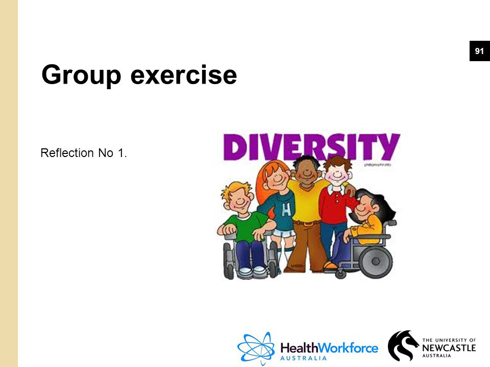 91 Group exercise Reflection No 1.