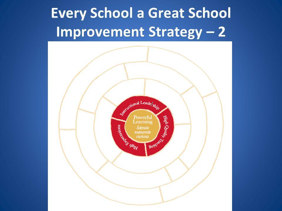 Every School a Great School Improvement Strategy – 2