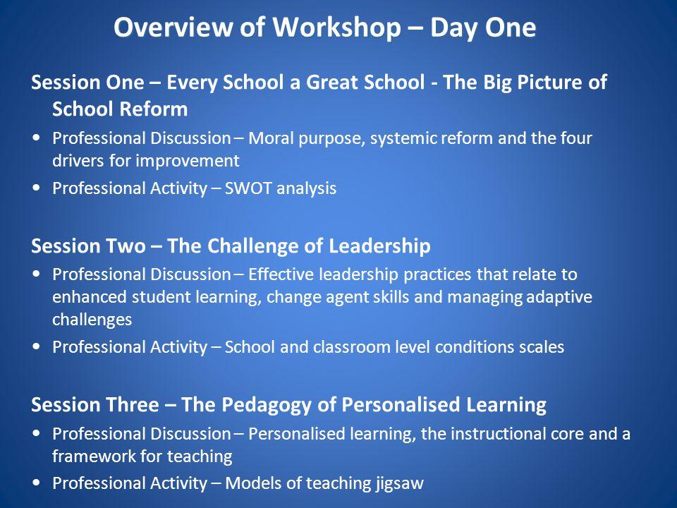 Every School a Great School School Improvement Strategy – 4