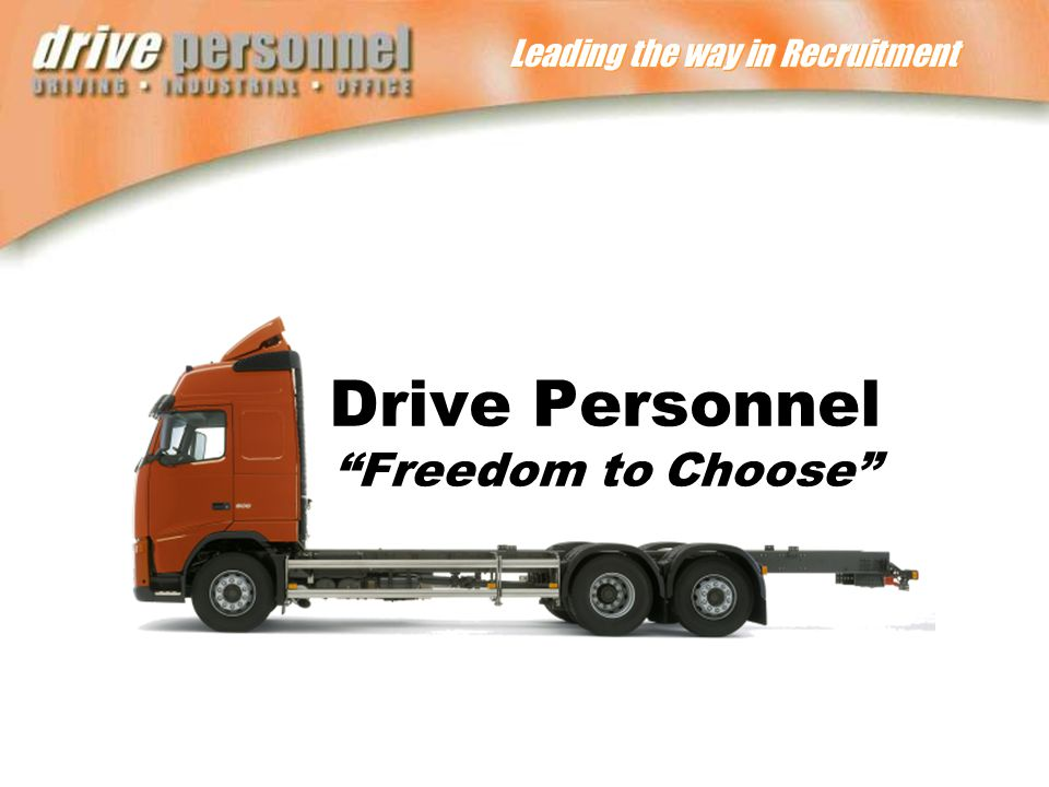 Leading the way in Recruitment Drive Personnel Freedom to Choose