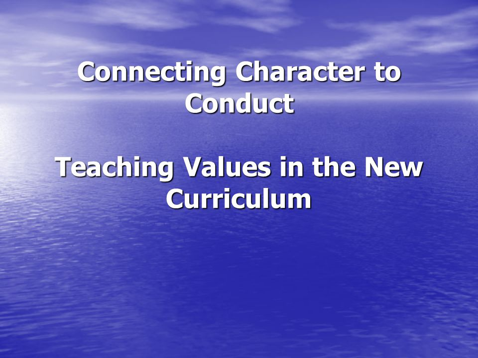 Duration of Implementation of Character Education