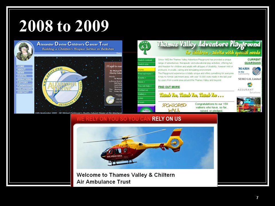 7 2008 to 2009