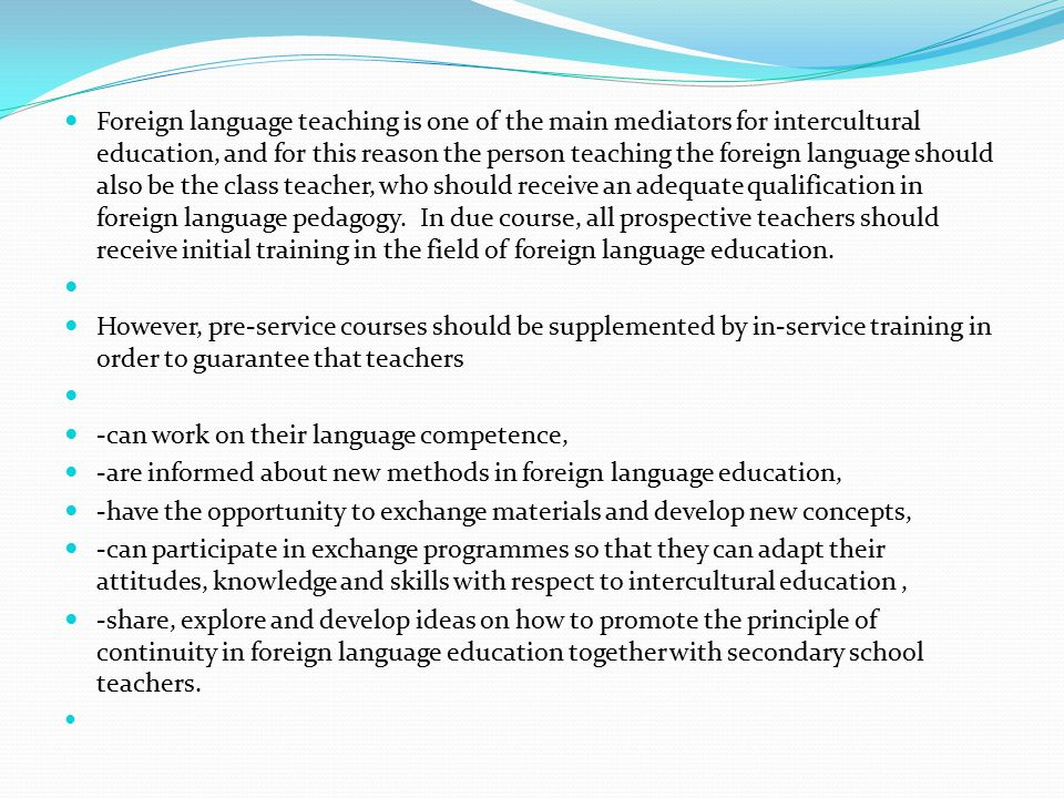 Conclusion On this view language as subject is concerned with developing language competence in reading, writing, speaking and listening.
