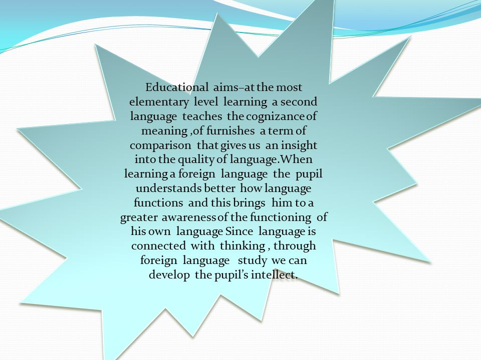 References -Report on Workshop 4A.Learning and teaching modern languages in primary schools.