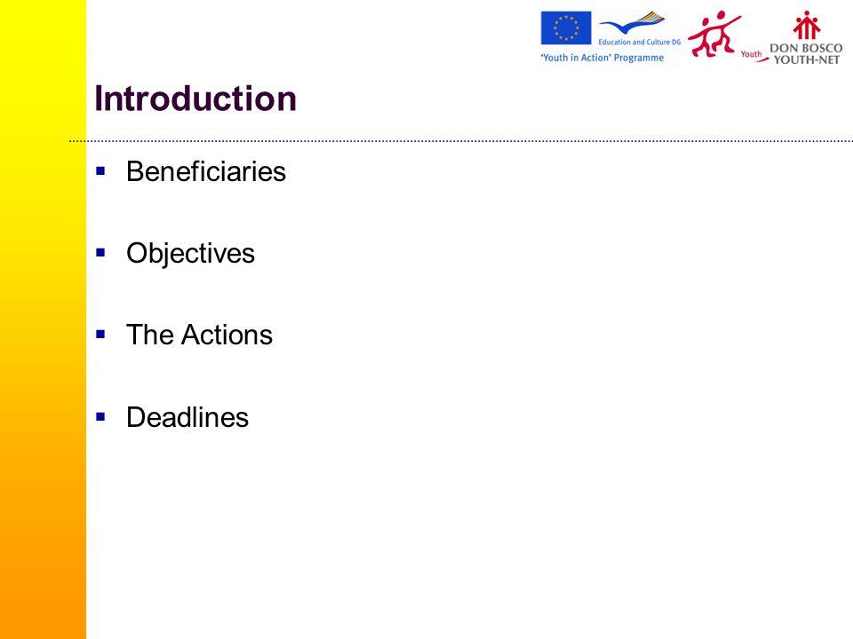 European Voluntary Service (2/4)  A Hosting organisation  A Sending organisation  A Coordinating Organisation  Volunteer or a group of up to 100 Volunteers  Mentor
