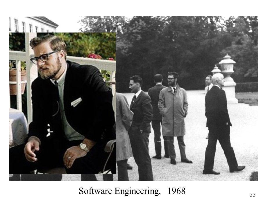22 Software Engineering, 1968