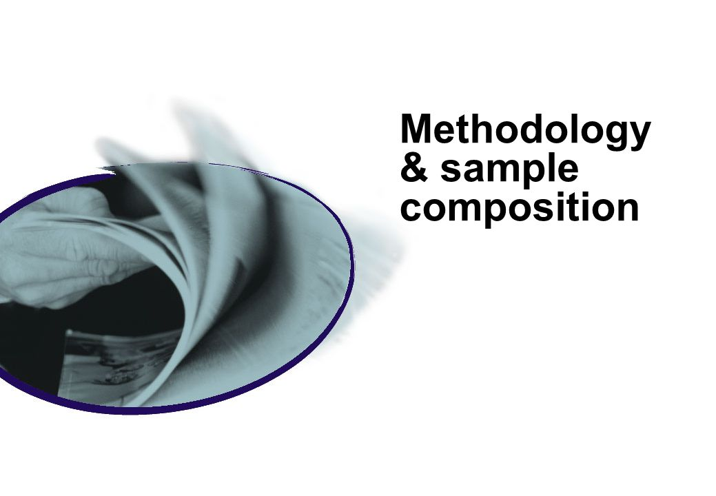 Methodology & sample composition