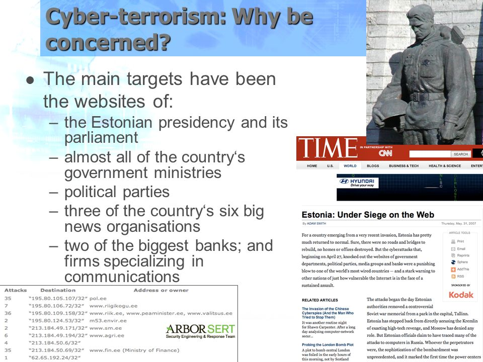 Cyber-terrorism: Why be concerned.