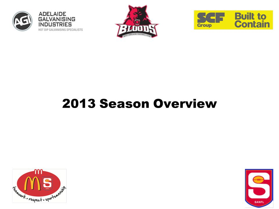 2013 Season Overview