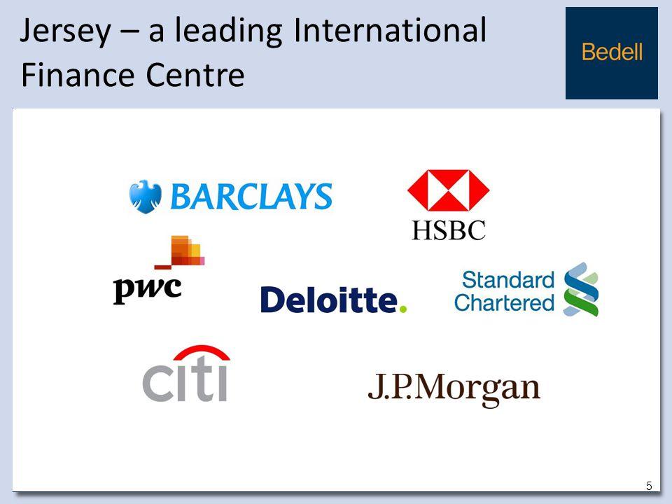Jersey – a leading International Finance Centre 5 5